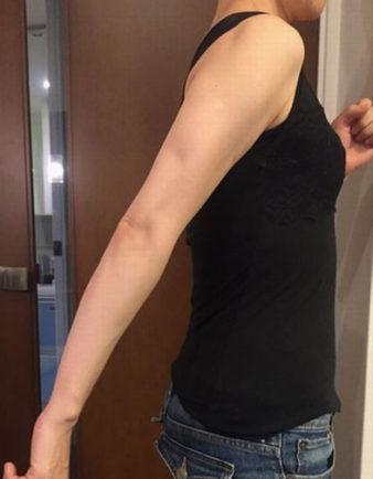 二の腕エクササイズ